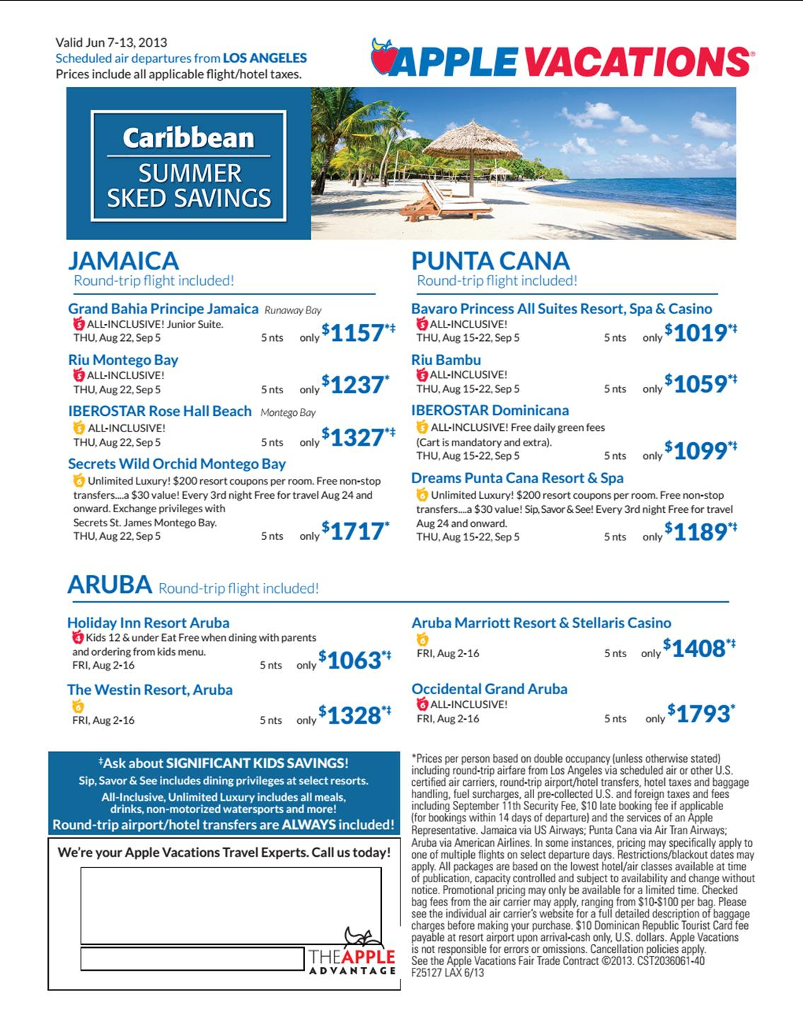 Caribe 7Jun-13Jun